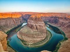 Horseshoe Bend - Page Arizona (herbw01) Tags: cliff coloradoriver water pagearizona horseshoebend
