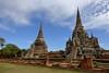 Wat Phra Si Sanphet. Thailand