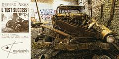CRASH (Kambo Dscha) Tags: crash car demolished scrap oldtimer nikon