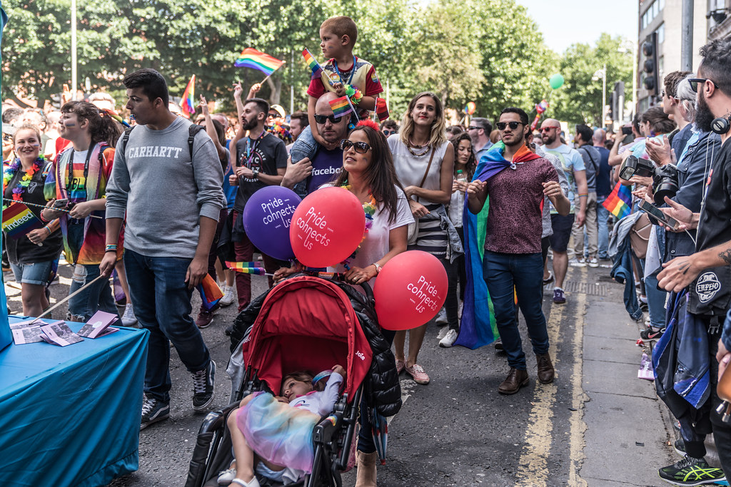 LGBTQ+ PRIDE PARADE 2017 [ON THE WAY FROM STEPHENS GREEN TO SMITHFIELD]-130023
