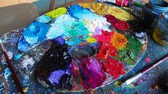 Guatemalan Artistic Painting Workshops (authentic guatemala travel) Tags: guatemala painters artist oil paintings workshops tours travel vacation authentic lake atitlan san juan la laguna