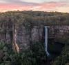 Belmore Falls at dusk (keithhorton3) Tags: waterfall australia belmore dusk nature nsw landscape red hdr