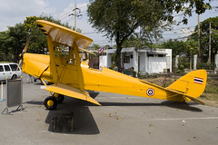RThaiAF_TigerMoth_ _01 (PvG - Aviation Photography) Tags: military aircraft aviation museum thailand rthaiaf