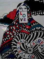 yves saint love (elinapoisa) Tags: yves saint lauren love burka