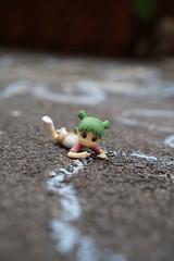 sidewalk chalk (omgdolls) Tags: yotsuba よつば