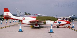 0827 PZL-Mielec TS-11 Iskra c/n 1H0827 6 Team Iskry