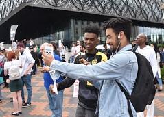 24/06/17 Birmingham Unites Against Nazi Britain First (Geoff Dexter) Tags: unite birmingham uniteagainstfascism antifascism antiracism racism standuptoracism fascism britainfirst protest demonstration tradeunions union unison nut nationalunionofteachers hopenothate