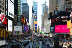 Times Square (Kai Pilger) Tags: manhattan midtown newyork timessquare usa advertisments street city nyc landmark busy crowdy square tourism travel broadway traffic billboard lights neon architecture urban