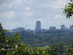 Harare Skyline (jnwakeling) Tags: harare zimbabwe city citycentre cityskyline suburbs trees viewfrommeyrickpark meyrickpark buildings cityofharare cloudyday