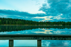 Late evening HDR view -Sognsvann (Chandra Prakash Paneru) Tags: sognsvann oslo norway lake water evening sky blue hdr reflection mirror norge landscape adventure