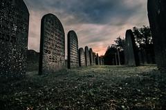 old graves (bjdewagenaar) Tags: graveyard old decay sky clouds sony sonya58 sonyalpha sonyphotographer sigma 1020mm 10mm wideangle ultrawideangle lowangle urban raw lightroom