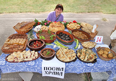Фестивал Старопланинских јела, Темска, 2017. Stara Planina Food Festival, Temska, Serbia 7/1/2017 (Tanjica Perovic) Tags: food dishes national traditional serbia balkanmountains staraplanina delicious display smile woman cook handmade homemade table outdoors day