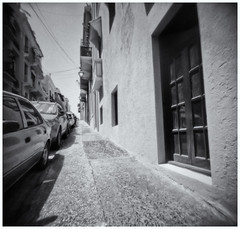 Fotografía Estenopeica (Pinhole Photography) (Black and White Fine Art) Tags: aristaedu400 pinhole5214x214 pinhole03mm niksilverefexpro2 lightroom3 camaraestenopeica estenopo pinholecamera pinhole sanjuan viejosanjuan oldsanjuan puertorico bn bw