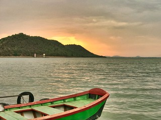 nature#tranquility#boat#nopeople##shotoniphone7plus#india#