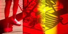 (dragoncello64) Tags: art arte trittico gambe giuliobenatti colori ombre