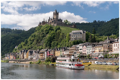 Cochem, Germany (William Krusche) Tags: cochem germany deutschland sonya7rii mosel wine grapes summer castle reichsburg sony2470f28gm river boat water riverboat