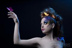 _M3_9704### (FrankCroft) Tags: albacete fashion portrait retrato mariposas butterflies redhead pelirroja frankcroft webmoda