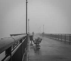 New Brighton pier on a foggy morning, awaiting the sunrise (Sandy Brinsdon (theafterworkphotographer)) Tags: newbrighton fog heroworkshop pier