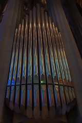 Sagrada Família (Maya Lucchitta) Tags: antonigaudí barcelona basílicaitempleexpiatoridelasagradafamília españa gaudi gaudí sagradafamilia sagradafamília spain organ