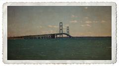 Mackinac Bridge (Terry L. Olsen) Tags: bridge texturedphoto michigan ononesoftware border travel