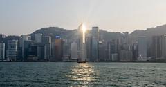 hong kong city (Greg Rohan) Tags: architecture skyscrapers building hongkongharbour hongkongisland harbourview sunset hongkong d7200 2017 photography water sea city china cityscape skyscraper skyline