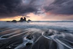 Sunset in Benijo (Caramad) Tags: roque mar landscape sunset mareaalta puestadesol rocks agua islascanarias benijo beach oceanoatlantico wave tenerife seascape sea rocas españa playa