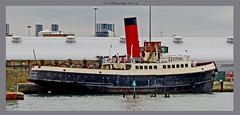 Calshot Of Southampton Tug Boat (dark-dawud) Tags: calshot tug boat southampton hampshire tender england uk
