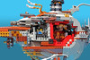 "USS Shining Light 5 (Markus ""Madstopper"" Ronge) Tags: lego submarine submersible nautical steampunk moc madstopper"