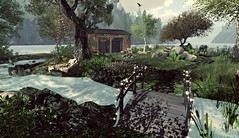 Brand New Colony Secluded House (Gaea Oakleaf) Tags: adult sim secondlife sl grid virtual brandnewcolony beach forest secluded peaceful design nude nudity babygirl sex