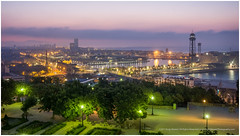 A Room With A View (RudyMareelPhotography) Tags: barcelona hotelmirador montjuïc portvell city colourful harbour landscape morninglight catalunya spain es