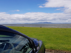 2017 0625 516 (SGS8+) Silloth; Scotland in view across the Solway Firth (Fiona) (Lucy Melford) Tags: samsunggalaxys8 cumbria silloth