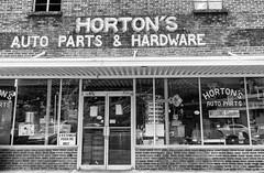 Auto parts & hardware store in a mountain town (sniggie) Tags: bw hardwarestore kentucky autopartsstore monochrome appalachia hyden shop weldingsupplies
