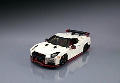 Nismo Nissan GTR 2017 (Firas Abu-Jaber) Tags: nissan nissangtr nismo gtr lego firasabujaber godzilla modelteam legocar legomodel toy scalemodel design designer moc legomoc legocreation creator legocreator white red black car supercar legosupercars afol afols