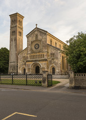 _DSC4010 (Adrian1Sun) Tags: england wilton stmary stnicholas church italianate architecture romanesque dusk glow sunlit