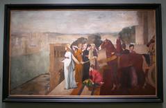 Edgar Degas : Sémiramis construisant Babylone, 1861. (neppanen) Tags: edgar degas edgardegas paris pariisi france ranska painting maalaus art taide kuvataide maalaustaide semiramis babylonia babylon