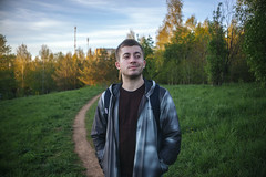 Me. (Stas_Ko) Tags: summer green 5dm2 prinzflex 35mm man portrait russia