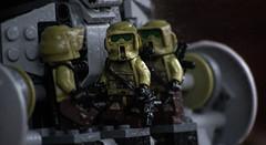 Waiting Deployment (Worn Out Trooper) Tags: kashyyyk kashyyyktrooper kashyyyyk lego legostarwars legoguys legos lol legominifig legominifigure starwars stormtrooper star scout sith outdoors savage