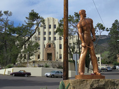 Cochise County (Arizona) courthouse (5 of 5) (jimsawthat) Tags: sculpture statue smalltown bisbee arizona architecture architecturaldetails courthouse