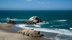 Seal Rocks (San Francisco Gal) Tags: sealrocks pacific ocean wave beach sea ggnra