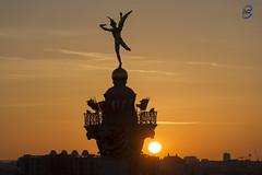 Bastille sunset 2 (apparencephotos) Tags: sunset paris bastille opera garnier génie pompidou