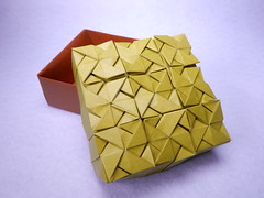 Square Interlace Box (ayako kobayashi) Tags: michałkosmulski origami box squareinterlacebox