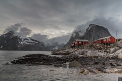 Cloudy Hamnøy (schda22) Tags: hamnoy norwegen norway norge sea meer berge berg mountain clouds wolken