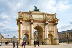 The Arc de Triomphe du Carrousel (williamagarcia) Tags: france thearcdetriompheducarrousel 2017 pyramid paris louvre museum