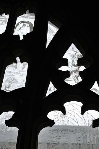 Millennium Window, Worcester Cathedral
