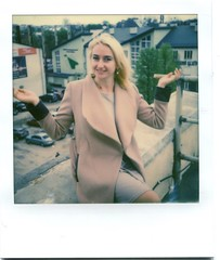 Happy B-Day, Girl! (o_stap) Tags: instant analog impossibleproject ishootfilm believeinfilm polaroid600 portrait polaroid