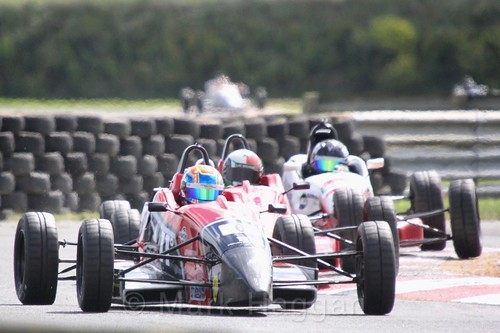 Josh Smith in the Formula Ford FF1600 championship at Kirkistown, June 2017