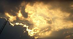 Heavens on fire (chericbaker) Tags: sunset fiery fierysky