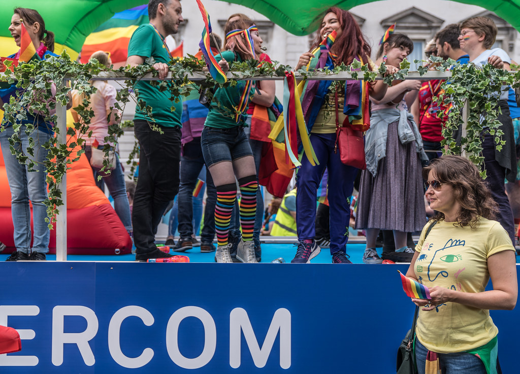 LGBTQ+ PRIDE PARADE 2017 [STEPHENS GREEN BEFORE THE ACTUAL PARADE]-129922