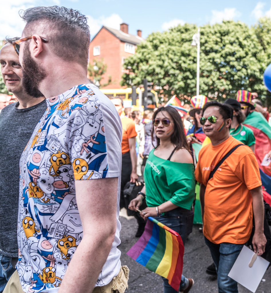 LGBTQ+ PRIDE PARADE 2017 [ON THE WAY FROM STEPHENS GREEN TO SMITHFIELD]-130103