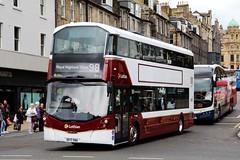 Lothian 466 SF17VNA (busmanscotland) Tags: lothian 466 sf17vna sf17 vna volvo wright eclipse gemini b5tl buses 98 royal highland show ingliston showground